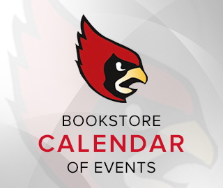 Picture of school mascot. Click to browse the bookstore calendar of events.
